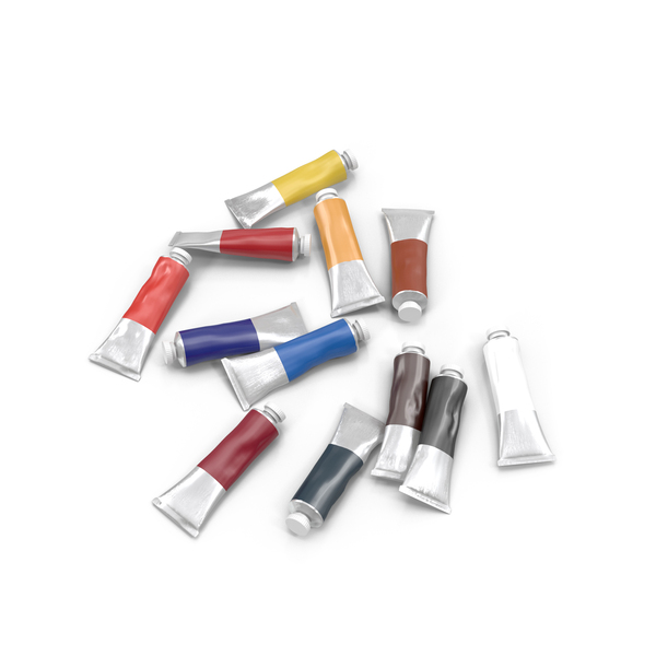 Oil Paint Tubes PNG Images & PSDs for Download.