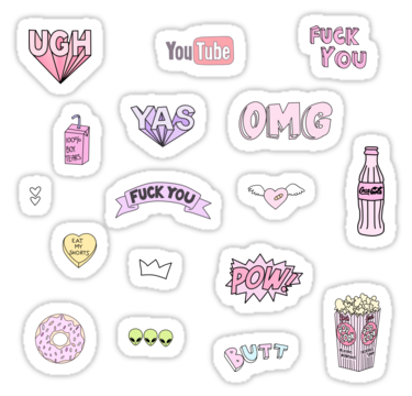Tumblr Stickers Png (104+ images in Collection) Page 1.