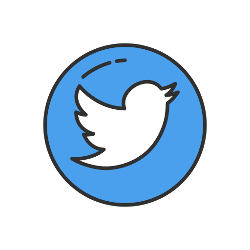 Twitter, circle Icon Free of Twitter UI.