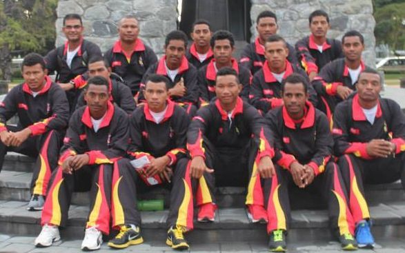 Sport: PNG Garamuts wary of complacency.