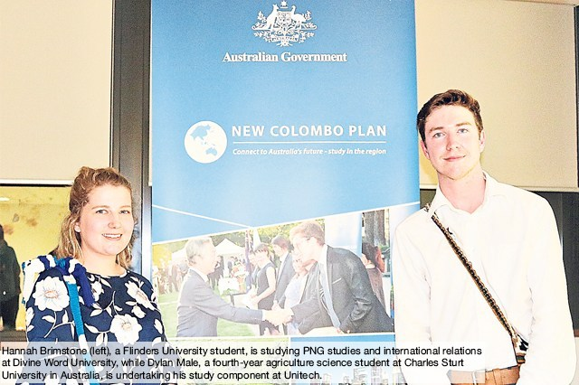 Duo pioneer Aust\'s study, internship plan in PNG.