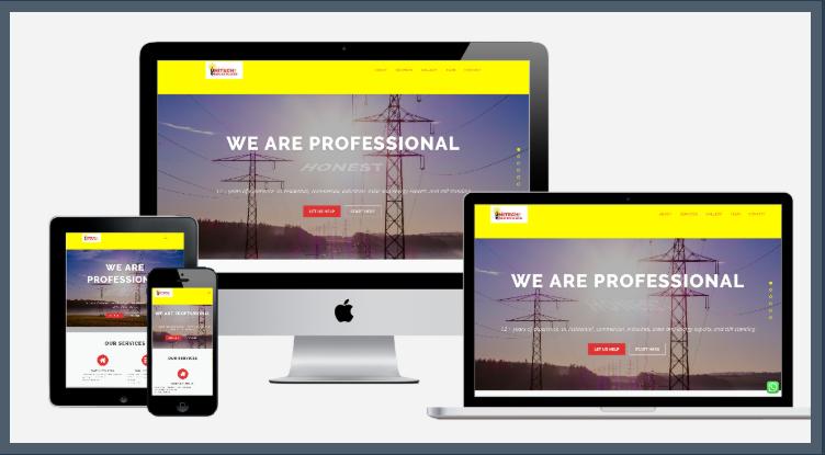 Unitech Website Design.