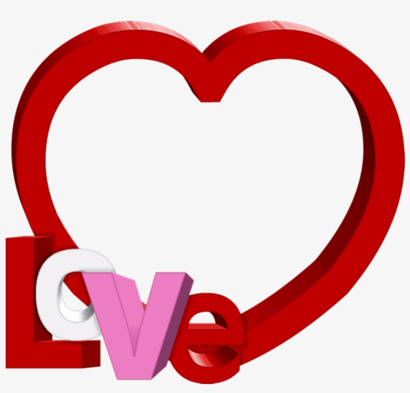 Valentines Day Frame Png Image.