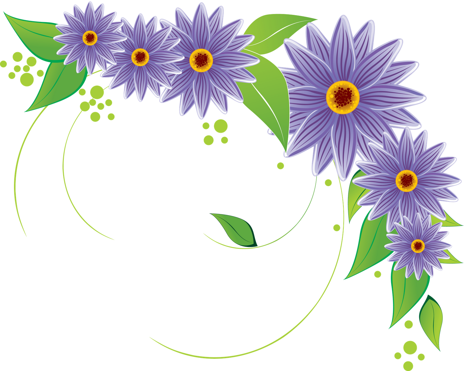 Flowers Vectors PNG Transparent Flowers Vectors.PNG Images.