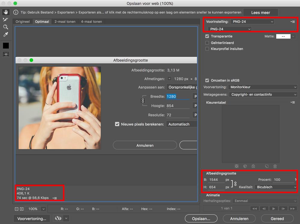 Hoe afbeeldingen verkleinen voor je blog?.