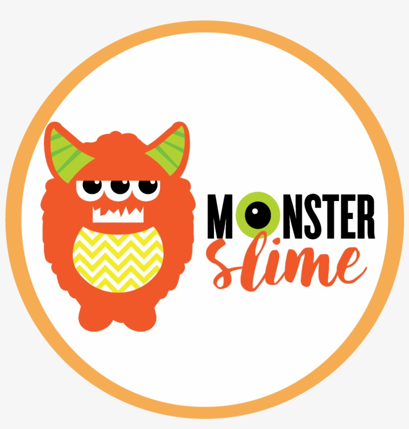 Download This Slime Monster Labels Png Version.