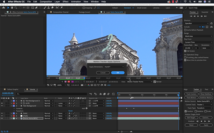 Video Tutorial: Create a Callout Graphic in Adobe After Effects.