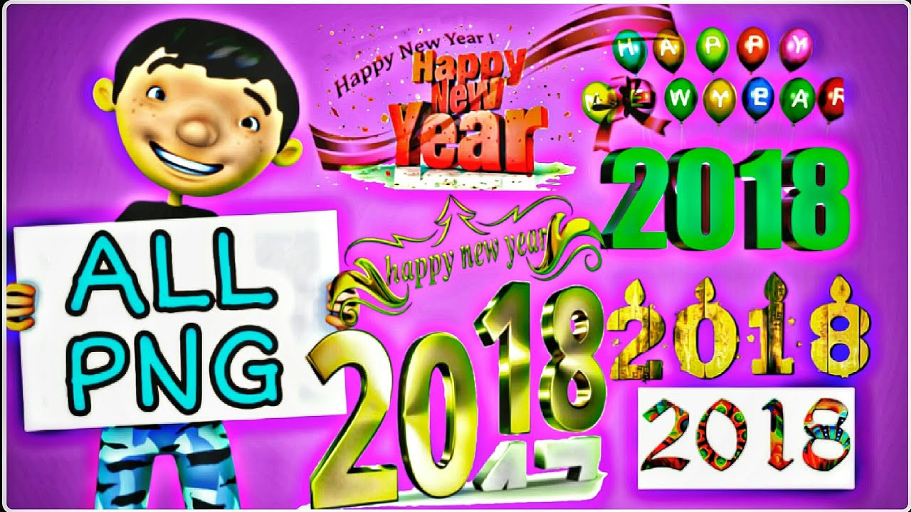 HAPPY NEW YEAR PNG SPECIAL.