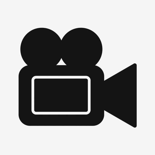 Video Vector Icon, Video Icon, Multimedia Icon, Movie Icon.