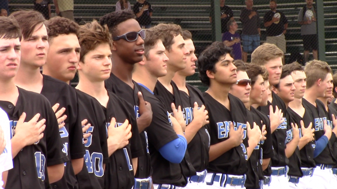 Baseball 5A Area Round: Georgetown Eagles vs College Station.