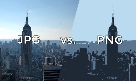 JPG vs PNG.