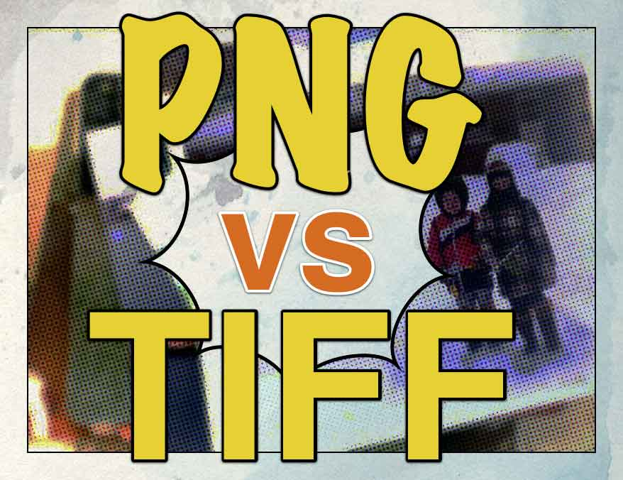 PNG vs TIFF.