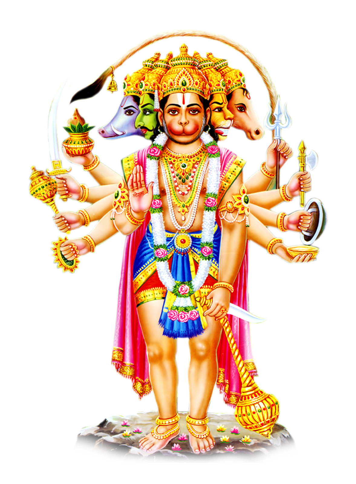 Download Hanuman PNG HD.