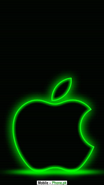 Green apple edge Wallpapers Mobile Pics.