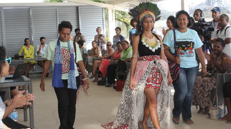 Wantok Clothing awarded designer for Miss PNG.