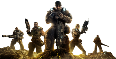 Download Gears of War Free Download PNG.