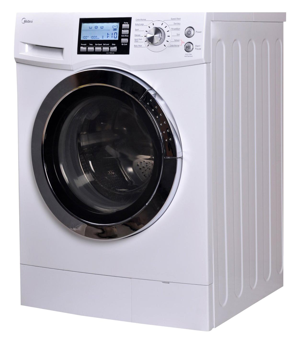 Front Loading Washing Machine PNG Image.