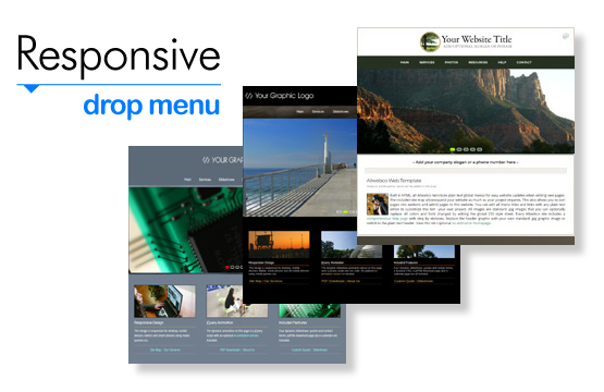 Responsive HTML Website Templates.