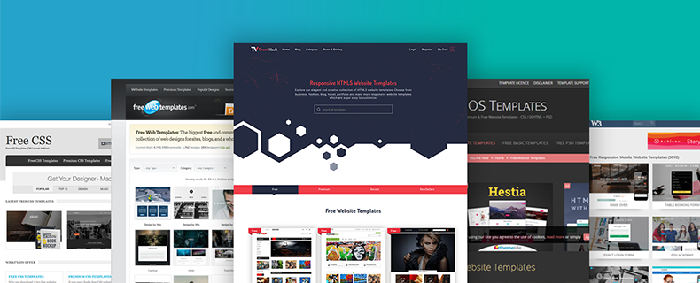 10 Free Website Templates you must look out in 2018.