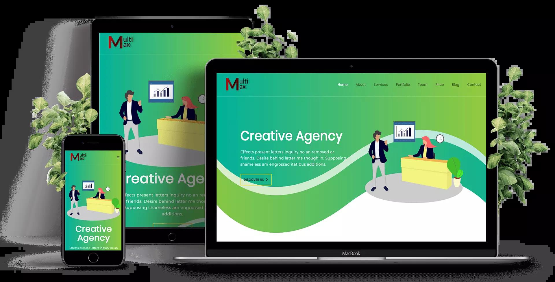 Download Free Website templates ∣ GEC Designs.