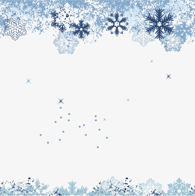 Winter Snowflake Background Material, Sn #42861.