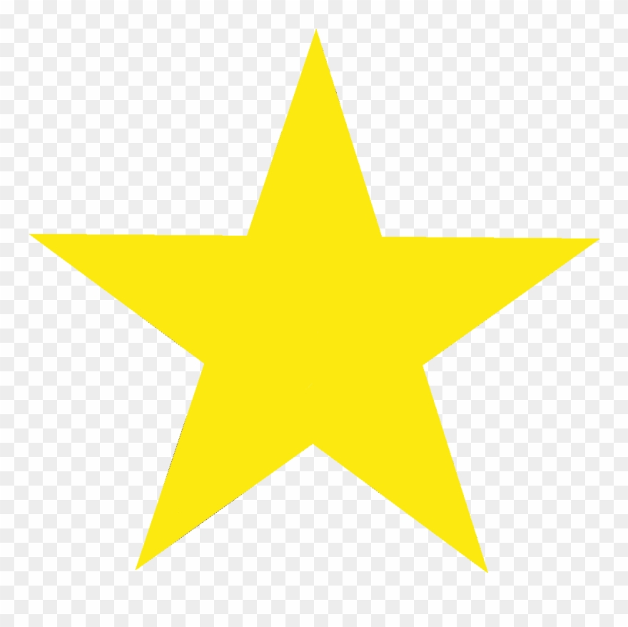 Yellow Star Png No Background & Free Yellow Star No.