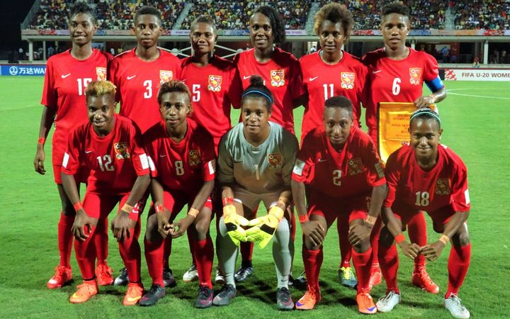 Sport: PNG U20s score first ever World Cup goal.