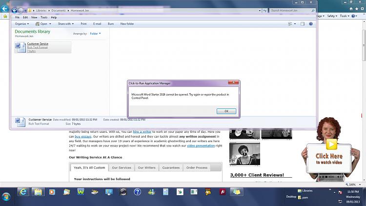 Microsoft Office Starter 2010 Won\'t Open Solved.
