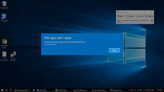 Windows 10 apps won\'t open. \