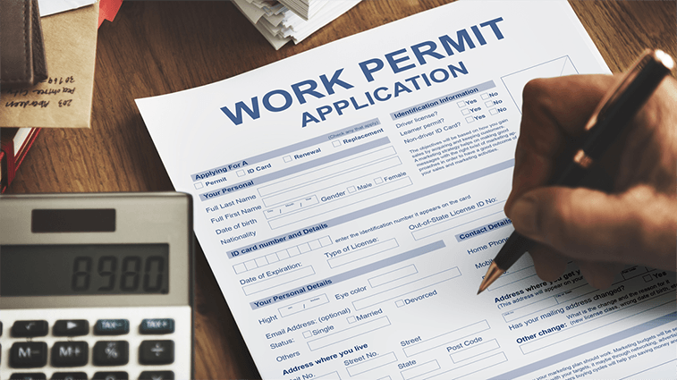 Work Without Permit Fees.