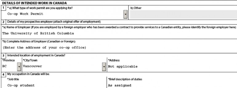 How to apply for or extend your co.