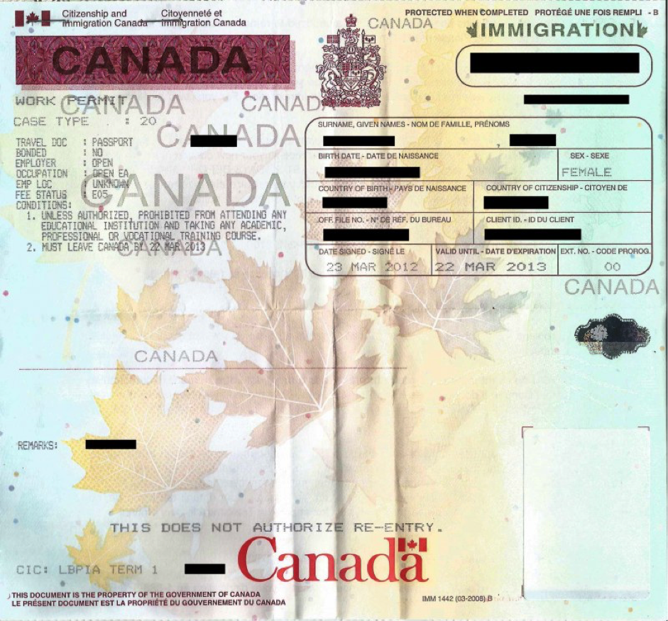 The landing process and your first steps in Canada.