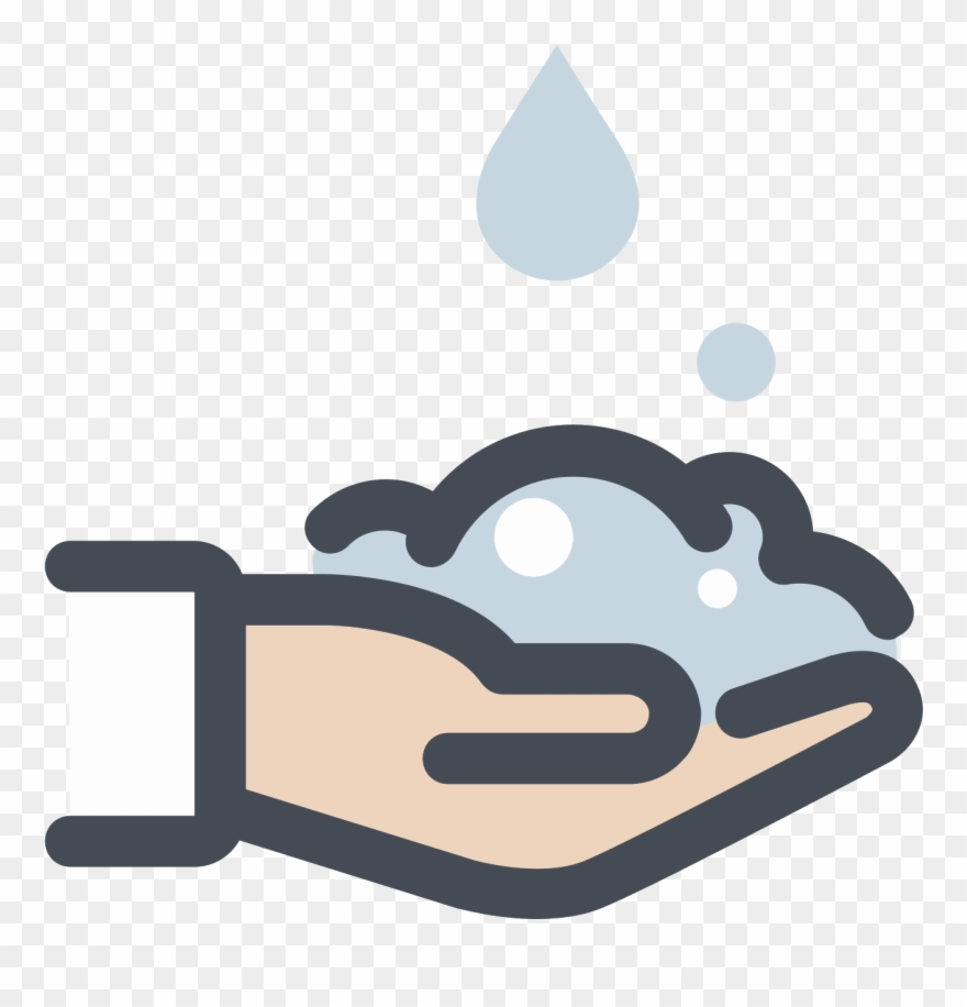 Wash Your Hands Icon.
