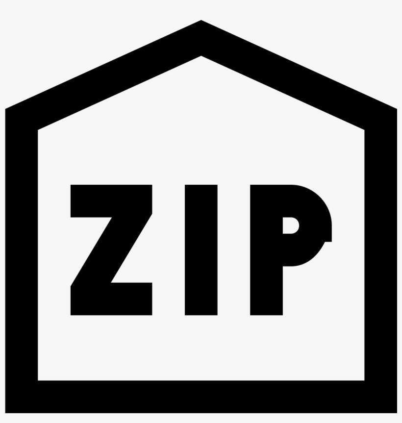 Zip Code Icon.