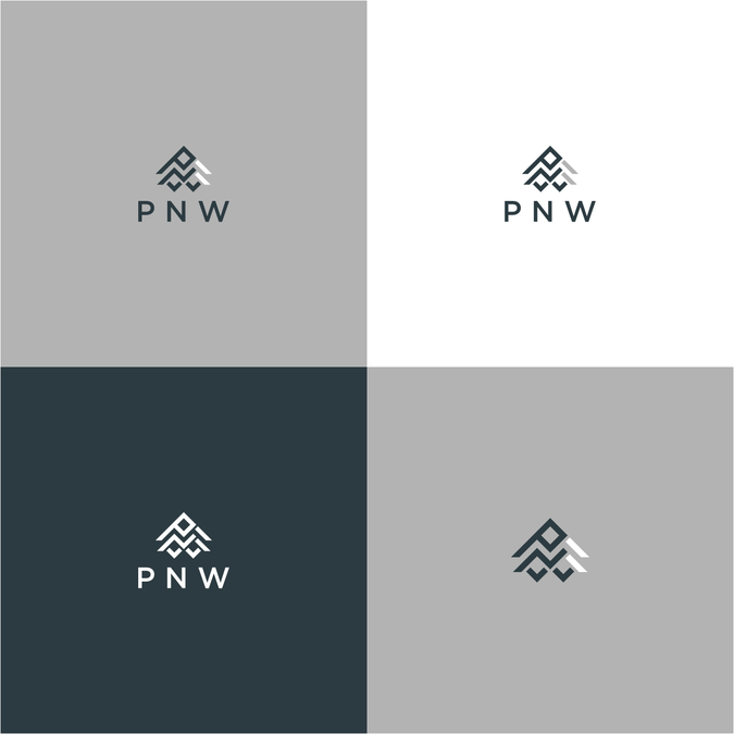 Create a Modern, Rustic Logo for PNW Wooden accessories.