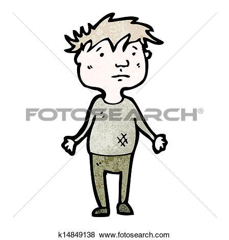 Poor boy Clip Art Vector Graphics. 387 poor boy EPS clipart vector.