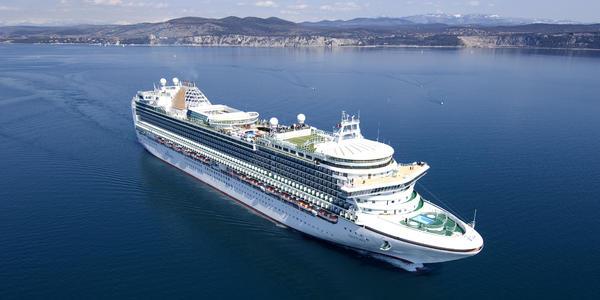 P&O Ventura Cruise.