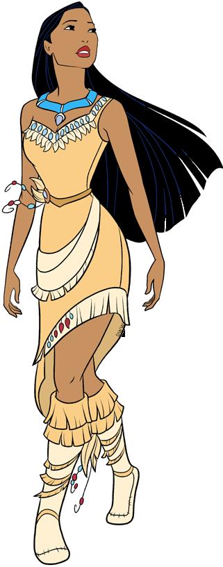 Pocahontas Clip Art.