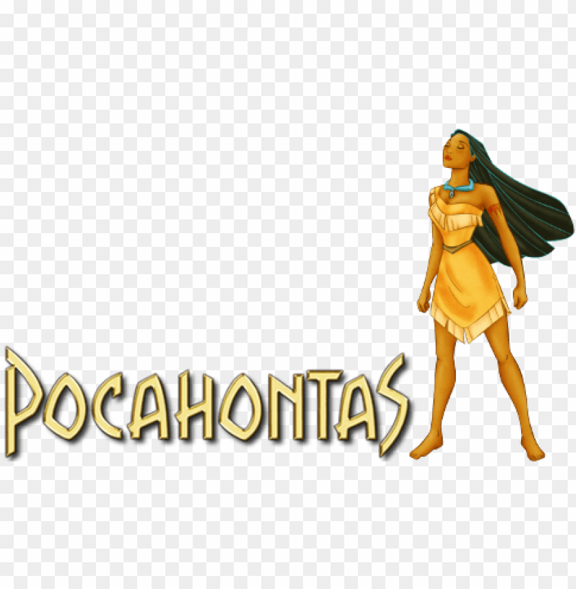 ocahontas movie image with logo and character.
