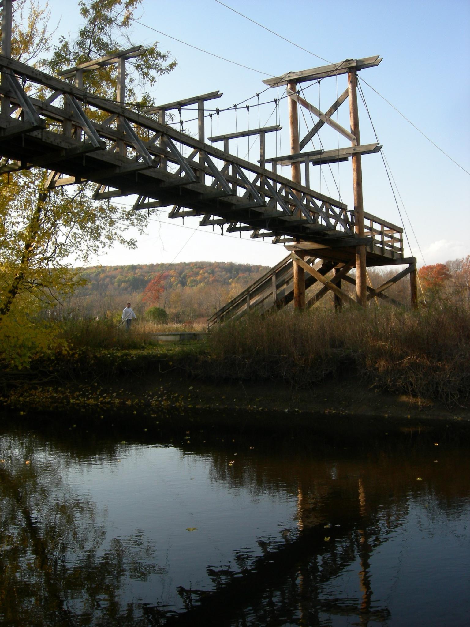 Appalachian Trail Pochuck Creek Bridge.