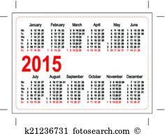Pocket calendar Clipart Vector Graphics. 215 pocket calendar EPS.