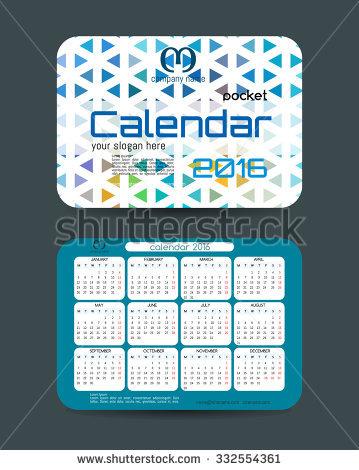 Pocket Calendar Stock Photos, Royalty.