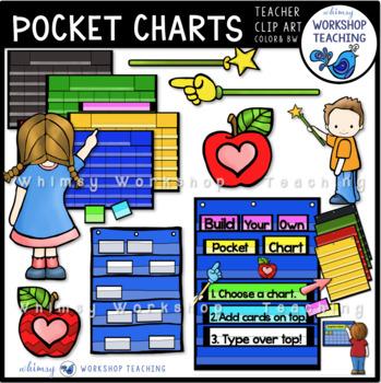 Build A Pocket Chart Clip Art.