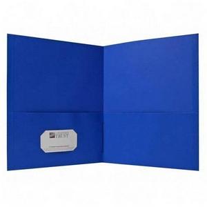 Two Pocket Folder Clip Art.