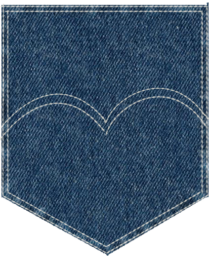 Jeans Pocket Png Vector, Clipart, PSD.