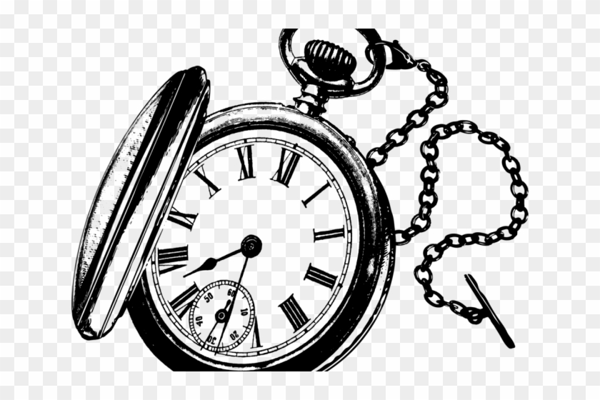 Pocket Watch Clipart.