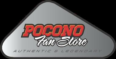 Grey Vintage Pocono Raceway Logo Shirt.