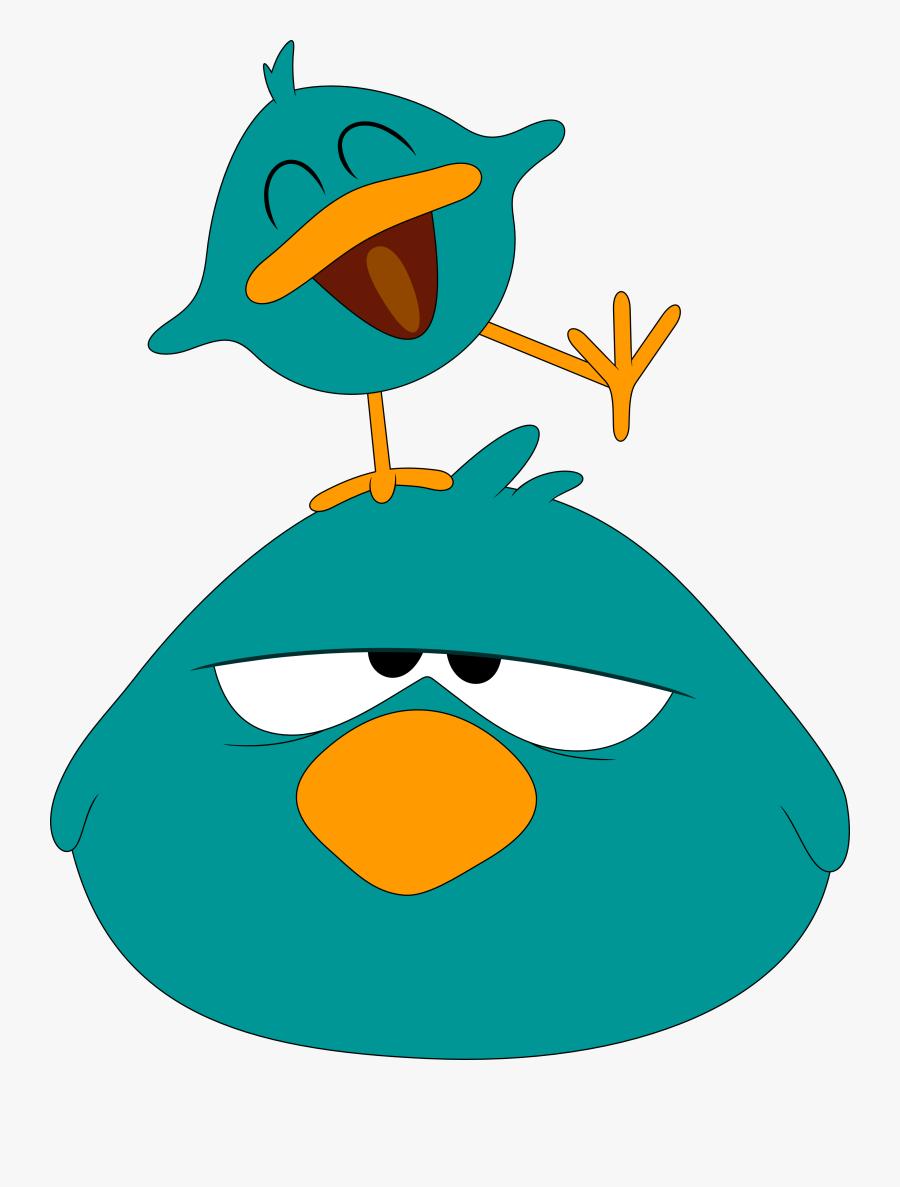 Youtube Baby Bird Sitting Animation Art.