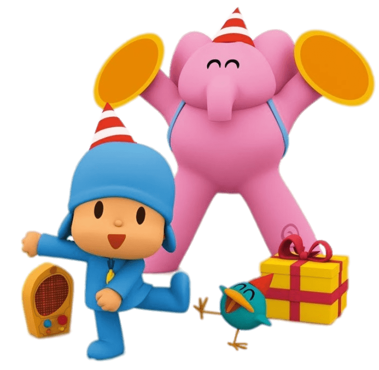 Pocoyo Dancing transparent PNG.
