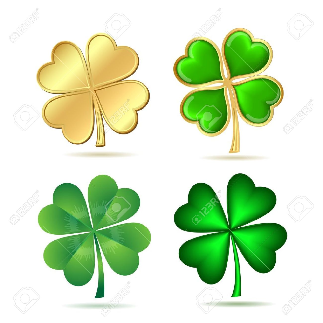 9,247 Clover Flower Stock Vector Illustration And Royalty Free.